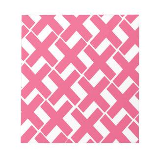 Xs rosado y blanco de Bubblegum Bloc