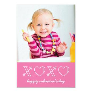 """Xs y tarjeta del día de San Valentín de la sala de Invitación 3.5"""" X 5"""""""
