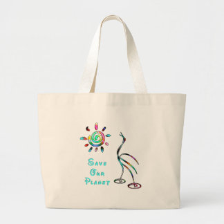 xSave Our Planet Large Tote Bag
