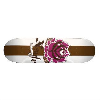 XSYLE Skull Series II Natural Skateboard
