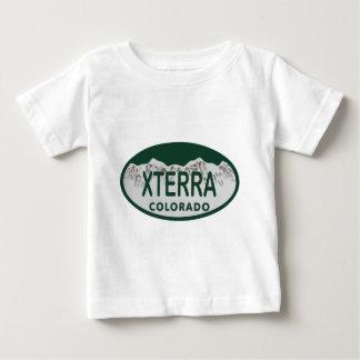 xterra license oval baby T-Shirt
