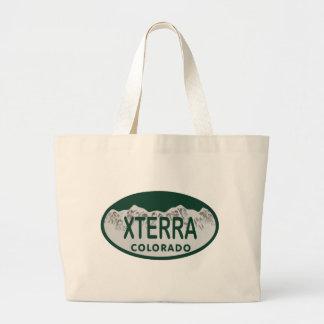 xterra license oval bag