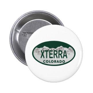 xterra license oval button