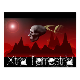 Xtra Terrestria, Xtra Terrestrial, painting is ... Postcard