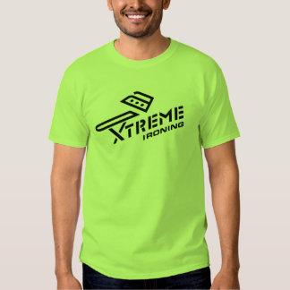 Xtreme Ironing Basic Lime T-shirt