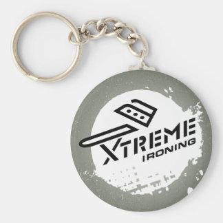 Xtreme Ironing Keychain 2