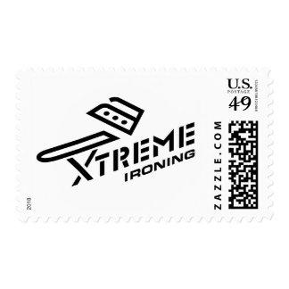 Xtreme Ironing Stamp