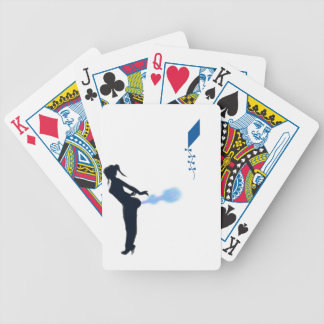 xtreme kite flying bicycle playing cards