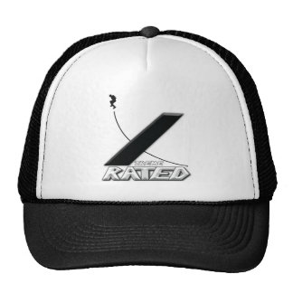 Xtreme Rated-Inline Skater Trucker Hat