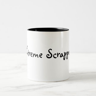 Xtreme Scrapper Two-Tone Coffee Mug