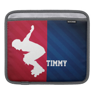 Xtreme Skating; Red, White, and Blue iPad Sleeve