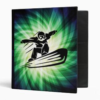 Xtreme Snowboarding 3 Ring Binder