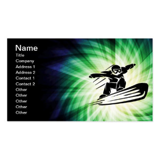 Xtreme Snowboarding Business Card