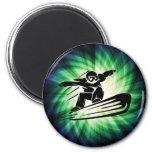 Xtreme Snowboarding Fridge Magnets