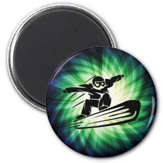 Xtreme Snowboarding 2 Inch Round Magnet