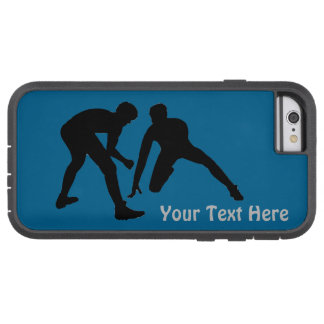 XTreme Tough Wrestling iPhone Cases with Your Text