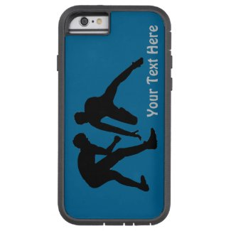 XTreme Tough Wrestling iPhone Cases with Your Text Tough Xtreme iPhone 6 Case