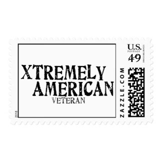 XTREMELY AMERICAN Veteran Postage Stamps