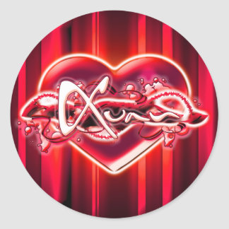 Xuan Classic Round Sticker