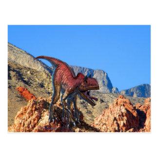 Xuanhanosaurus Dinosaur Post Card