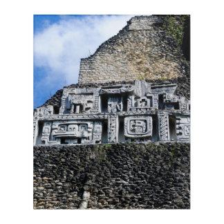 Xunantunich Mayan Ruin in Belize Acrylic Wall Art