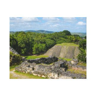 Xunantunich Mayan Ruin in Belize Canvas Print