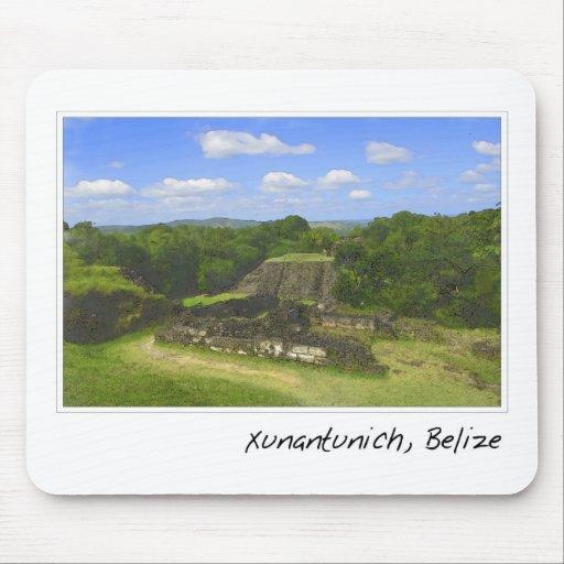 Xunantunich Mayan Ruin in Belize Mouse Pad