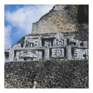 Xunantunich Mayan Ruin in Belize Panel Wall Art