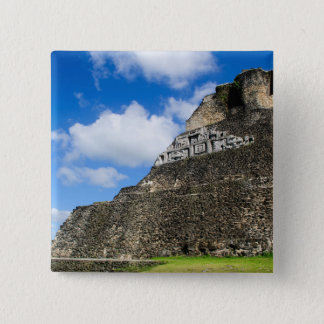 Xunantunich Mayan Ruin in Belize Pinback Button