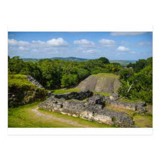 Xunantunich Mayan Ruin in Belize Postcard
