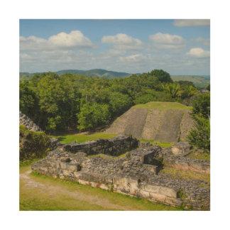 Xunantunich Mayan Ruin in Belize Wood Print