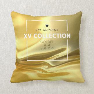 XV GOLDEN AGE EDITION IV THROW PILLOW