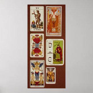 XV The Devil Posters