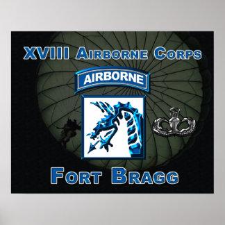 XVIII Airborne Corps Print