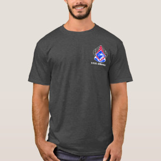 XVIII camiseta aerotransportada del cuerpo