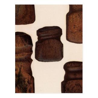 XVIII instrumentos de piedra, New México Tarjetas Postales