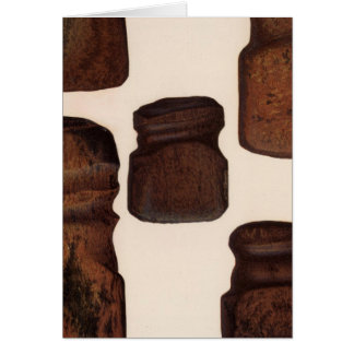 XVIII Stone implements, New Mexico Card