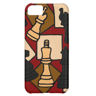 XW- Chess Abstract Art Design iPhone 5C Cases