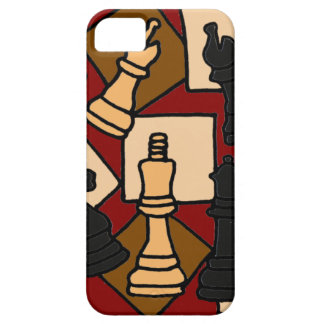 XW- Chess Abstract Art Design iPhone 5 Cover