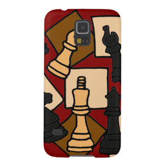 XW- Chess Abstract Art Design Galaxy S5 Case
