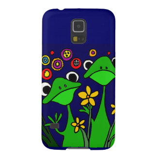 XW- Folk Art Frogs Design Case For Galaxy S5