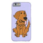 XW- Funny Golden Retriever Dog Design iPhone 6 Case