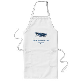 XWaterSkis, Smith Mountain LakeVir... - Customized Long Apron