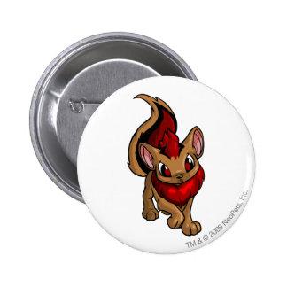 Xweetok Red Pinback Button