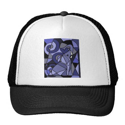 XX- Abstract Art Elephant Mesh Hat