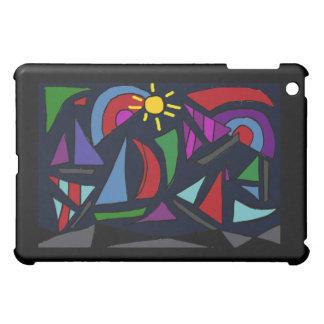 XX- Abstract Art Sailing iPad Mini Cases
