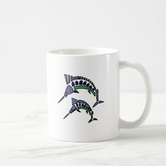 XX- Abstract Art Swordfish Coffee Mug