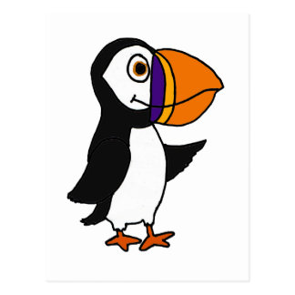 Puffin Bird Postcards | Zazzle