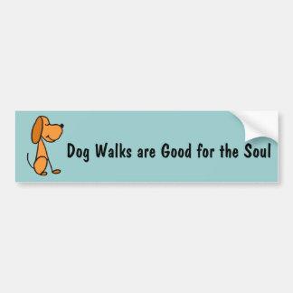 XX- Adorable Stick Figure Puppy Dog Cartoon Bumper Sticker