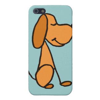 XX- Adorable Stick Figure Puppy Dog Cartoon Case For iPhone SE/5/5s